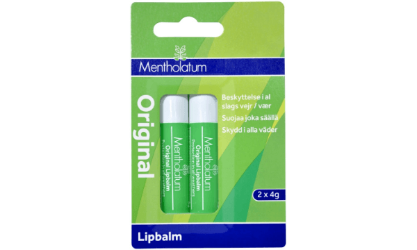 Mentholatum Original Lipbalm 2-pak