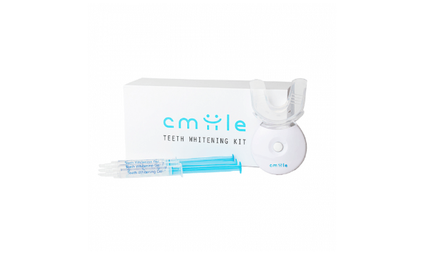 Cmiile Tandblegningssæt får din naturlige tandfarve tilbage