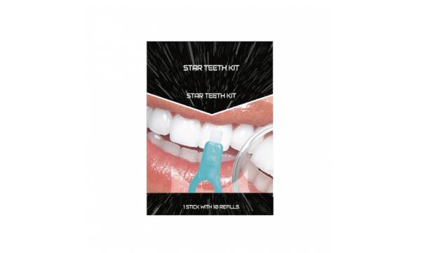 Pearl Star Teeth Whitening Kit absorberer misfarvninger
