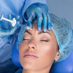 Brynløft med botox